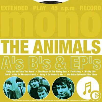 The Animals - A's B's & EP's - The Animals CD C6VG