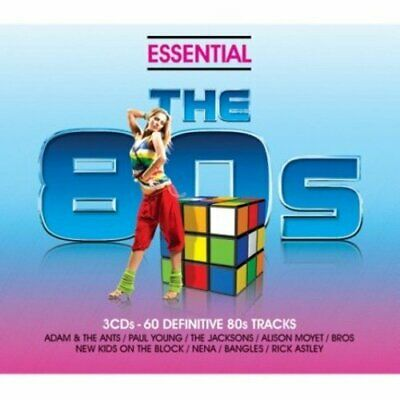 Various - Essential 80s - Classic Eighties Pop And Rock Hits - Various CD V0VG