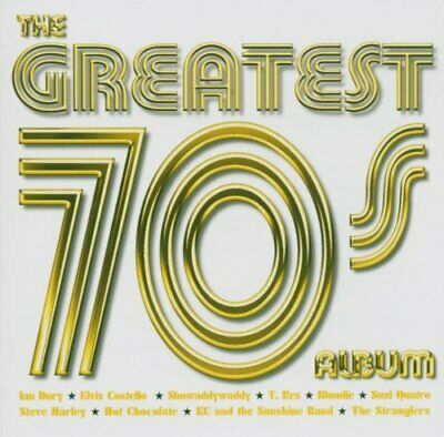 Various Artists - The Greatest 70's Album - Various Artists CD HOVG The Cheap