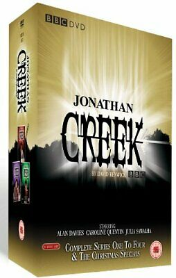 Jonathan Creek - Complete Series 1-4 & The Christmas Specials Box... - DVD  0GVG