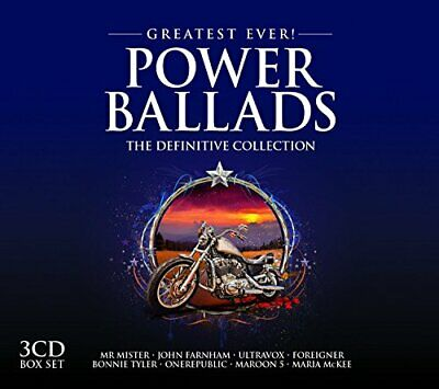 Greatest Ever Power Ballads - Various Artists CD 54VG The Cheap Fast Free Post