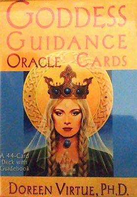 Goddess Guidance Oracle Cards - Doreen Virtue. Brand new, Box sealed