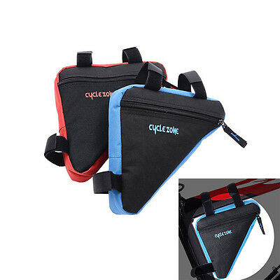 Triangle Cycling Bicycle Front Tube Frame Bag Pouch Holder Saddle Pannier LAN