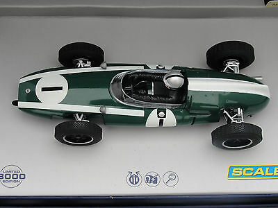 Scalextric Legends Cooper Climax  #1 Green  C3658A   Le  1:32 Slot  Bnib