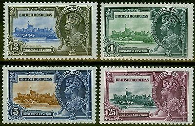 British Honduras 1935 Jubilee set of 4 SG143-146 Mtd Mint