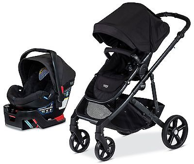 Britax B-Ready Travel System Baby Stroller w B Safe 35 Infant Car Seat Black NEW