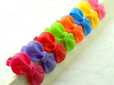 Pet Hair Bows Rubber Bands/Clips Cute Bowknot Dog Hair Bows Grooming Product ALU