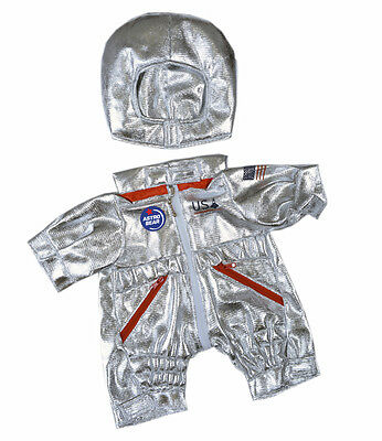 """Astronaut teddy bear costume outfit clothes to fit 15"""" build a bear plush teddy"""