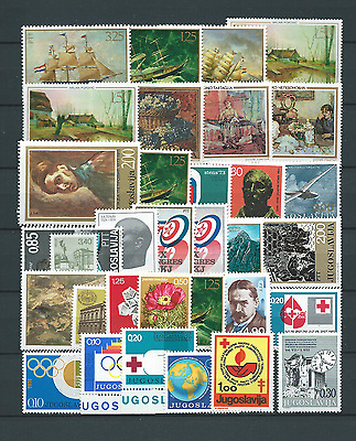 Lot Nº 12 - Yougoslavie - Année ' 60 - '70 - Timbres Neufs** Mnh Luxe