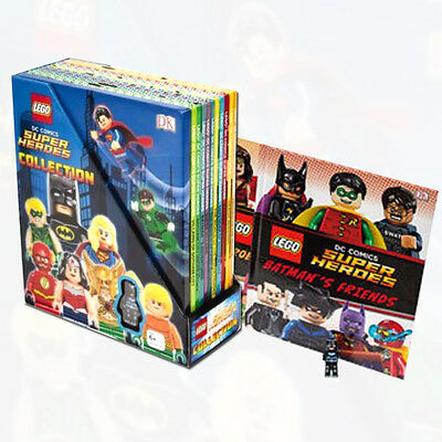 LEGO DC Comics Super Heroes 10 Books Collection Set With One Activity Book NEW