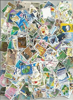 500 Different Modern Japanese Stamps. Used. Very Nice Stamps