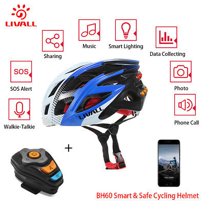 Smart Helmet Wireless Bluetooth Bling Fahrradhelm Radhelm Schutzhelm Hands-free