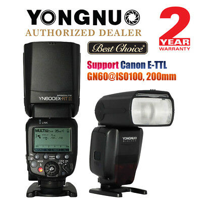 Yongnuo YN600EX-RT II Wireless HSS Master Flash Speedlite for Canon 600EX-RT US