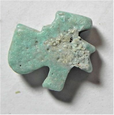 Zurqieh -Af1510- Ancient Egypt , Faience Eye Of Horus Amulet. 600 - 300 B.c