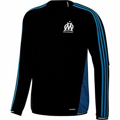 Olympique Marseille 2015 - 2016 Adidas Training Top In Adult Sizes Xs To Xxxl