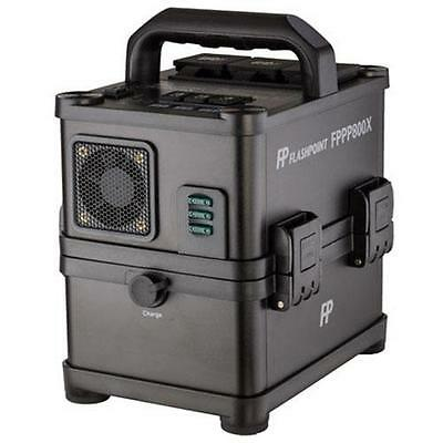 Flashpoint PowerStation PS-800 - AC/DC On-Location Power Supply