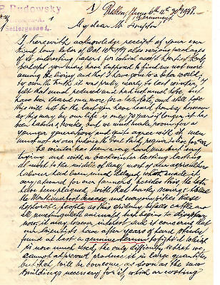 Germany 1938 three page letter from Germany to England & 1923 German envolope
