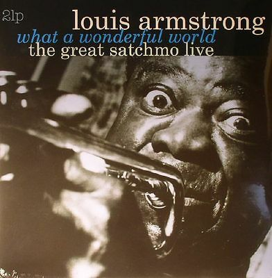 Louis Armstrong - What A Wonderful World: The Great Satchmo Live - 2x Vinyl LP