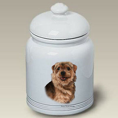 Ceramic Treat Cookie Jar - Norfolk Terrier (TB) 34225