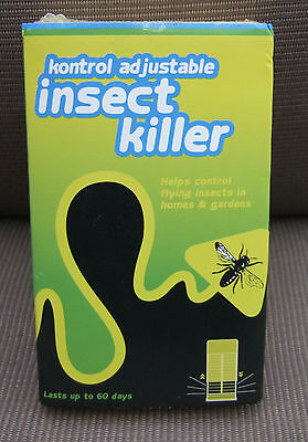 Insect Killer Slow Release Adjustable Last Up to 60 Days NEW Boxed
