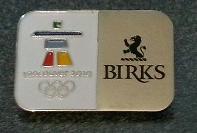 2010 Olympic Vancouver BIRKS pin