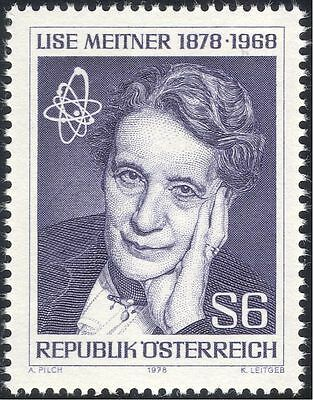 Austria 1978 Lise Meitner/Scientist/Nuclear Science/Atomic/Physics 1v (n44282)