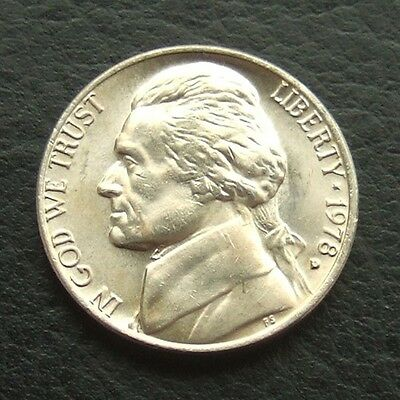 Usa 1978 - 1981 Jefferson Nickel : Unc From Official Year Set : You Choose