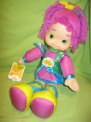 "Hallmark 2016 Rainbow Brite STORMY Friend Character 18"" PLUSH DOLL New with Tag"