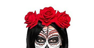 Carnevale/Halloween cerchietto con rose 27744