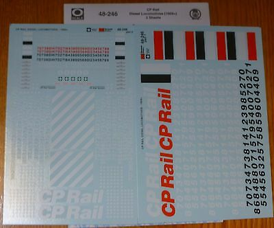 O Cotton Belt Diesel Hood Units 1970s-1991 Decals 2 Sheets O Scale Microscale #48-8 y