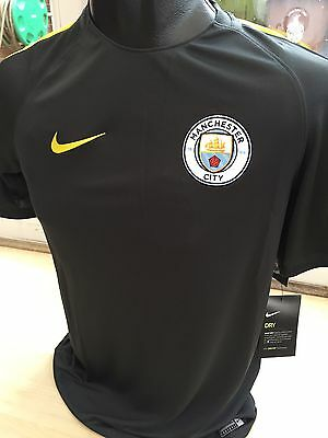Manchester City Away Football Shirt Training Top Nike Size Small Brand New