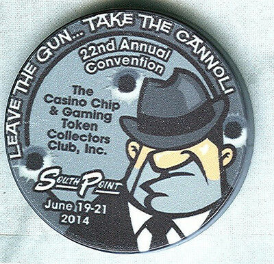 Ccgtcc 22Nd Annual Convention Chip (2014) (New)