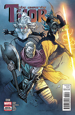 UNWORTHY THOR #4 (MARVEL 2017 1st Print) COMIC