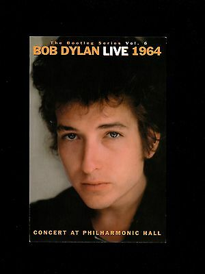 ORIGINAL VINTAGE PROMO Bob Dylan Live 1964 Counter Postcard 2004 Limited Unused