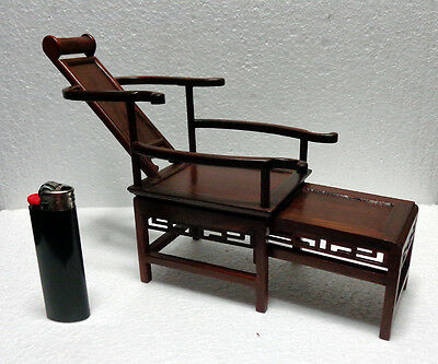 CINA (China): Fine Chinese chair miniature made in hardwood