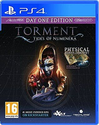 Torment: Tides of Numenera (PS4) [New Game]