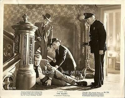 Burt Lancaster And Friends Orig The Killers Universal Pictures Film Noir Still 1