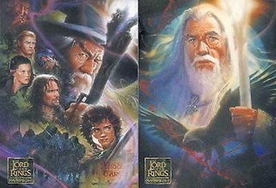 Lord of the Rings Masterpieces 2 - 72 card Base Set