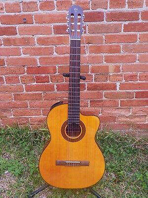 Takamine GC3CE Acoustic-Electric Ac/El Classical Nylon String Guitar #4228