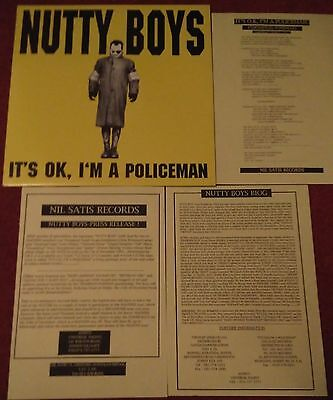 """Nutty Boys / Madness / Suggs - It's OK I'm A Policeman UK RELEASE 12"""" SINGLE"""