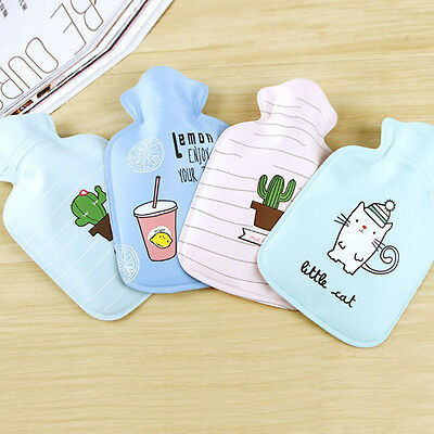 Cartoon Mini Hot Water Bottle Small Hand Warmer Cartoon Plush Hot Water Bottle