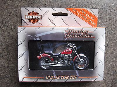 Harley Davidson LIMITED EDITION  COLLECTOR TIN Playing Cards 2 Pack NEW IN BOX