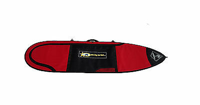 Surfboard Travel Cover Board Bag Short Board 6'6 10mm Red