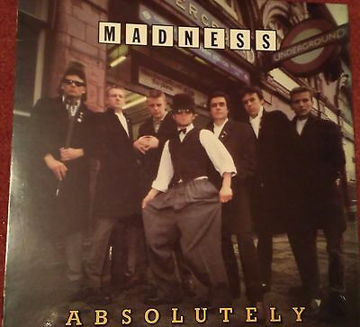 Madness / Suggs - Absolutely UK RELEASE WITH WITHDRAWN COVER VINYL L.P.