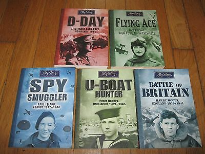 Lot 5 Spy Smuggler Flying Ace The Trenches My Story Battle of Britain D-Day +