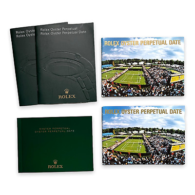 Rolex Oyster Perpetual Date booklet, various years available
