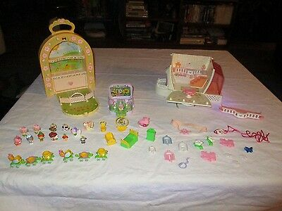 1980's CHARMKINS JEWELRY HOUSE FURNITURE CHARMS PEOPLE ANIMALS BY HASBRO