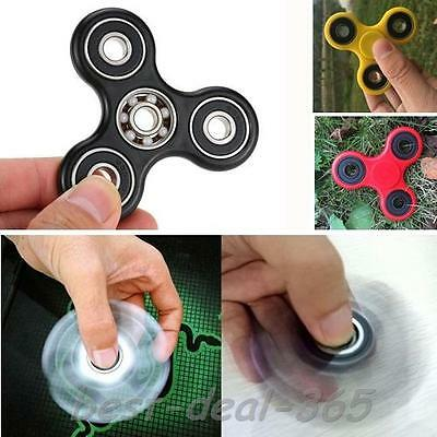 Tri Spinner Fidgets Toy Fidget Spinner For Autism ADHD Anti Stress EDC 4 Color
