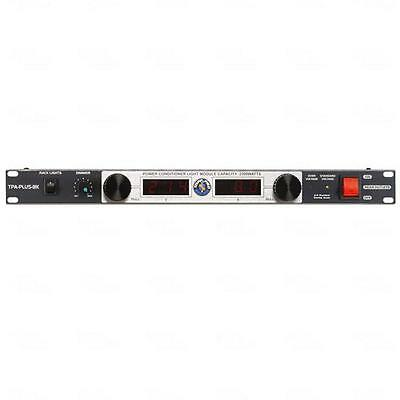 Topp Pro Power Conditioner PDU 8 IEC Outlet RFI/EMI Filters Server Rack Cabinet