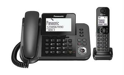 Panasonic Kx-Tgf320 Top Quality Corded Answering System With Cordless Handset